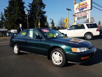 Low Mileage 1996 Honda Accord EX coupe Gas Saver CLEAN!